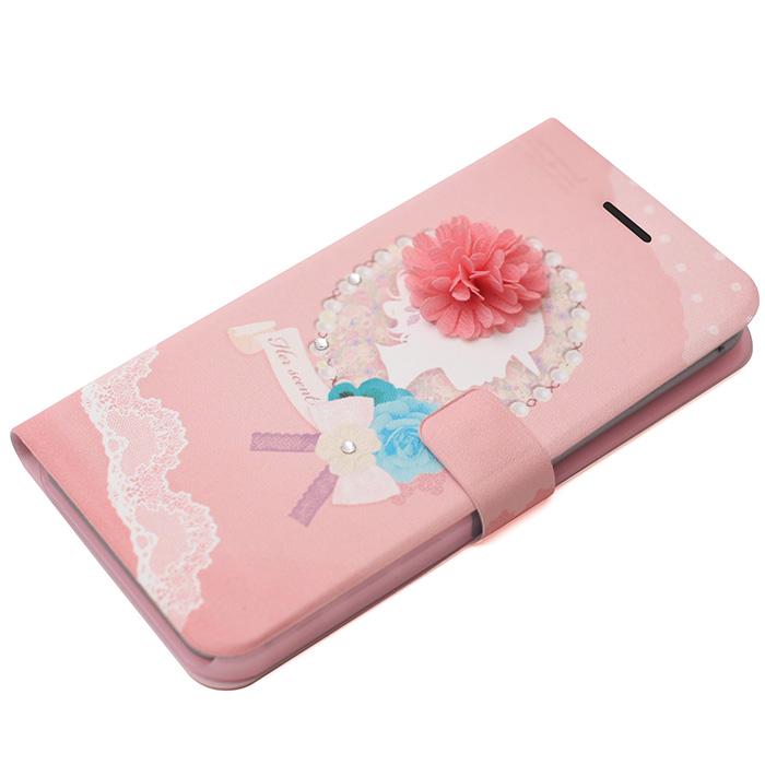 iPhone6 Plus ケース 手帳型ケース Mademoiselle マーガレット iPhone 6 Plus_0