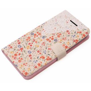 手帳型ケース Blossom オレンジ iPhone 6 Plus
