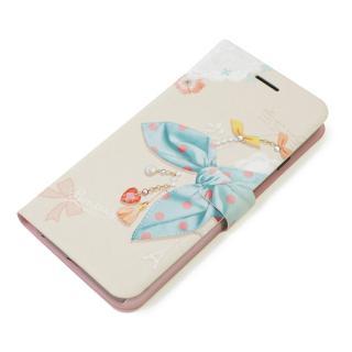 手帳型ケース Dot Scarf Diary ブルースカーフ iPhone 6 Plus