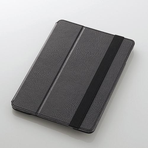 iPad Air/レザーカバー/2アングルタイプ/ブラック_0
