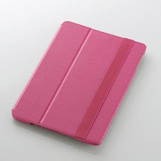 iPad Air/レザーカバー/2アングルタイプ/ピンク