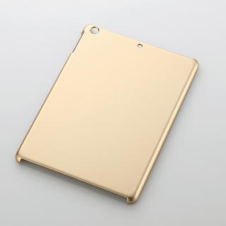 iPad Air/シェルカバー/ラバーコーティング/ゴールド