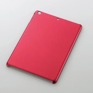 iPad Air/シェルカバー/ラバーコーティング/レッド