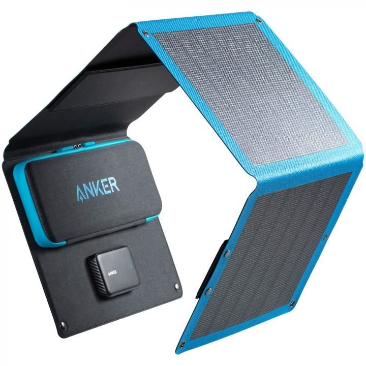 Anker PowerSolar Flex 3-Port 24W ブラック_0