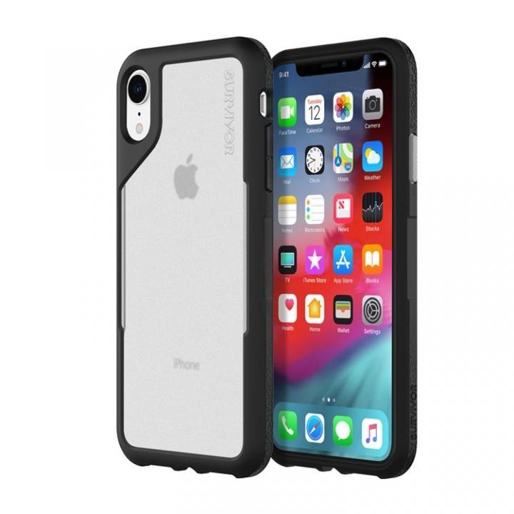 iPhone XR ケース Griffin Survivor エンデュランス 背面ケース ブラックグレイ iPhone XR_0