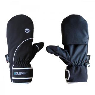 極寒対応スマホ手袋ISGloves 黒 XLサイズ