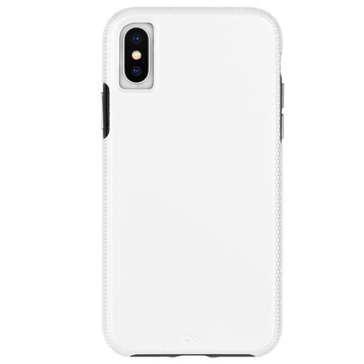 iPhone XS/X ケース Case-Mate Tough Grip 背面ケース  White/Black iPhone XS_0