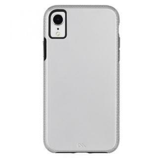 iPhone XR ケース Case-Mate Tough Grip 背面ケース  Silver/Black iPhone XR