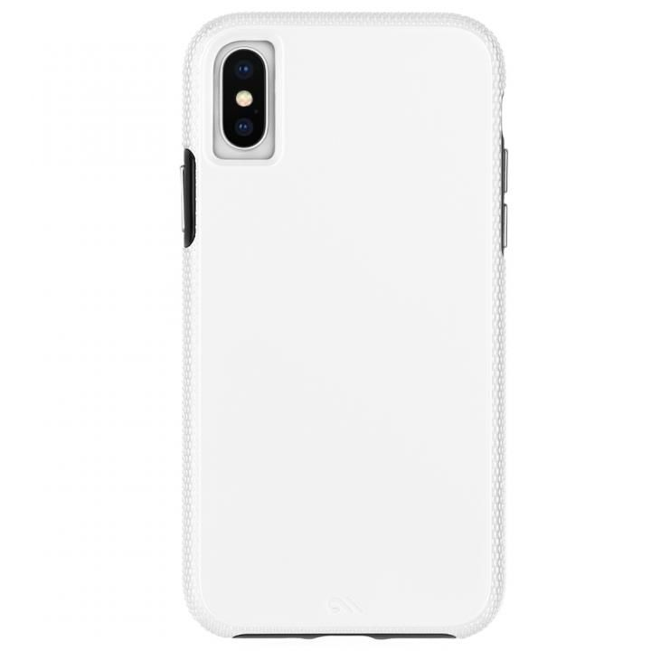 iPhone XS Max ケース Case-Mate Tough Grip 背面ケース  White/Black iPhone XS Max_0