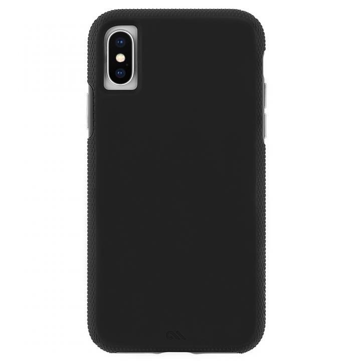 iPhone XS Max ケース Case-Mate Tough Grip 背面ケース  Black iPhone XS Max_0