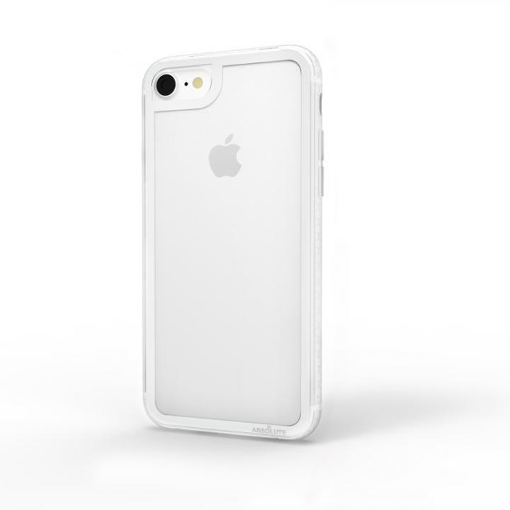 【iPhone8/7ケース】LINKASE CLEAR Gorilla Glass シルバー iPhone 8/7_0