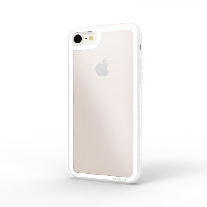 iPhone8/7 ケース LINKASE CLEAR Gorilla Glass ホワイト iPhone 8/7_0