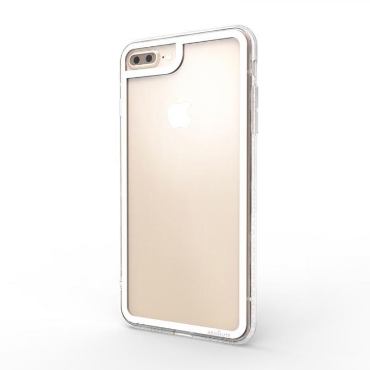 【iPhone8 Plus/7 Plusケース】LINKASE CLEAR Gorilla Glass ホワイト iPhone 8 Plus/7 Plus_0