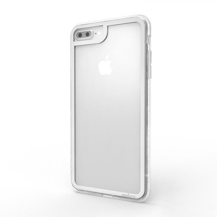 iPhone8 Plus/7 Plus ケース LINKASE CLEAR Gorilla Glass シルバー iPhone 8 Plus/7 Plus_0