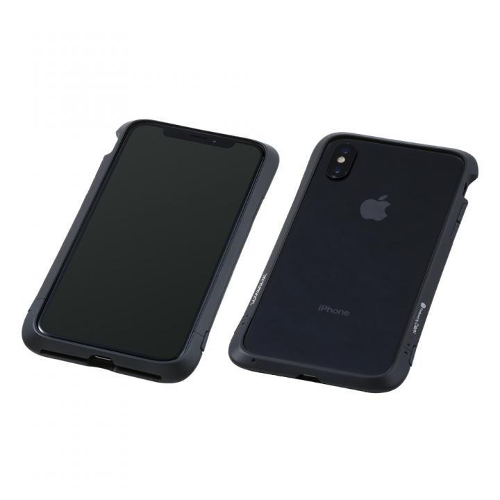 iPhone XS/X ケース Deff Cleave アルミバンパー Virtue ブラック iPhone XS/X_0