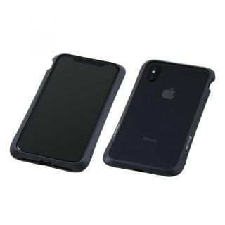 Deff Cleave アルミバンパー Virtue ブラック iPhone X【12月上旬】
