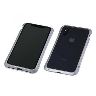 Deff Cleave アルミバンパー Virtue シルバー iPhone X【12月上旬】