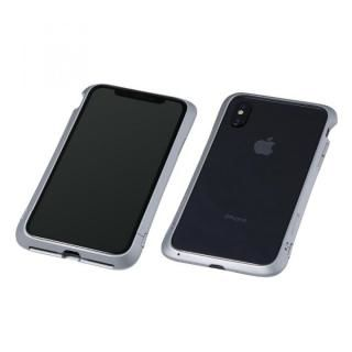 【iPhone XS/Xケース】Deff Cleave アルミバンパー Virtue シルバー iPhone XS/X
