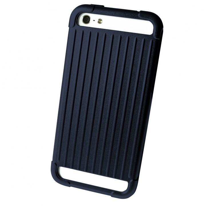 【iPhone SE/5s/5ケース】UM by GRAMAS RM01LTD Navy Blue iPhone SE/5s/5ケース_0