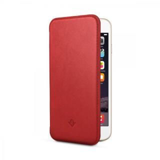 【12月上旬】極薄レザー手帳型ケース SurfacePad レッドポップ iPhone 6