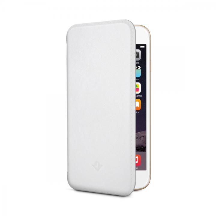 iPhone6s/6 ケース 極薄レザー手帳型ケース SurfacePad モダンホワイト iPhone 6s/6_0