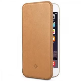 極薄レザー手帳型ケース SurfacePad キャメル iPhone 6 Plus