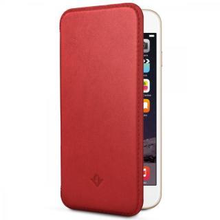 極薄レザー手帳型ケース SurfacePad レッドポップ iPhone 6s Plus/6 Plus