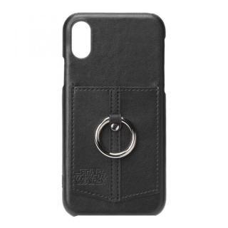 スター・ウォーズ ハードケース ポケット&リング付き ロゴ/ブラック