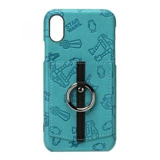 【iPhone XSケース】スター・ウォーズ ハードケース ポケット&リング付き パターン