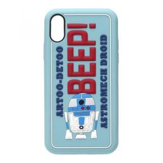 スター・ウォーズ シリコンケース R2-D2 iPhone X