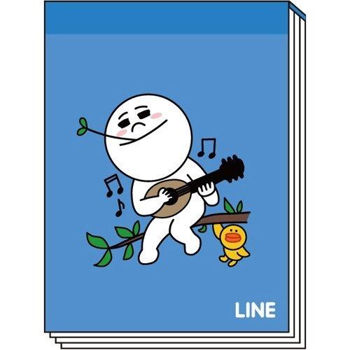 LINEミニメモA(MOON)_0
