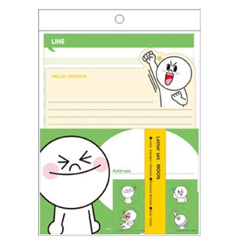 LINE レターセット ムーン