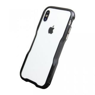 【iPhone XS/Xケース】アルミニウムバンパー ブラック iPhone XS/X_3