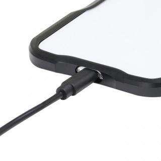 【iPhone XS/Xケース】アルミニウムバンパー ブラック iPhone XS/X_6