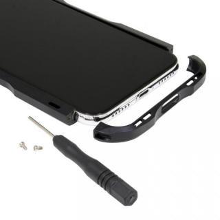 【iPhone XS/Xケース】アルミニウムバンパー ブラック iPhone XS/X_7