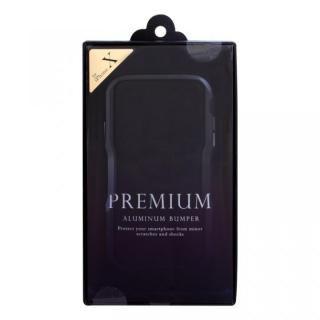 【iPhone XS/Xケース】アルミニウムバンパー ブラック iPhone XS/X_9