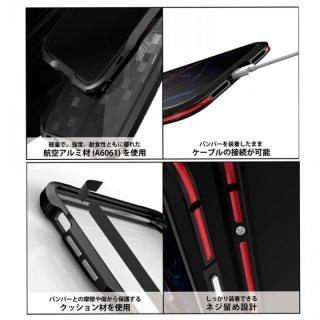【iPhone XS/Xケース】アルミニウムバンパー ブラック iPhone XS/X_10