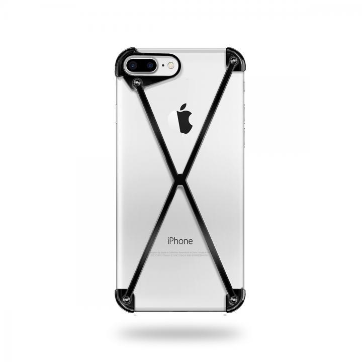 【iPhone7 Plusケース】ミニマムデザインカバー RADIUS case Black iPhone 7 Plus_0