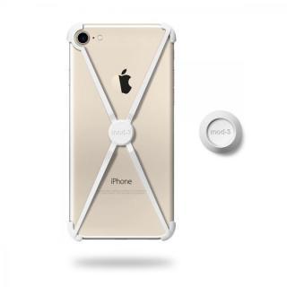 【iPhone7ケース】ミニマムデザインフレーム ALT case ホワイト iPhone 7