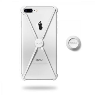 【iPhone7 Plusケース】ミニマムデザインフレーム ALT case ホワイト iPhone 7 Plus