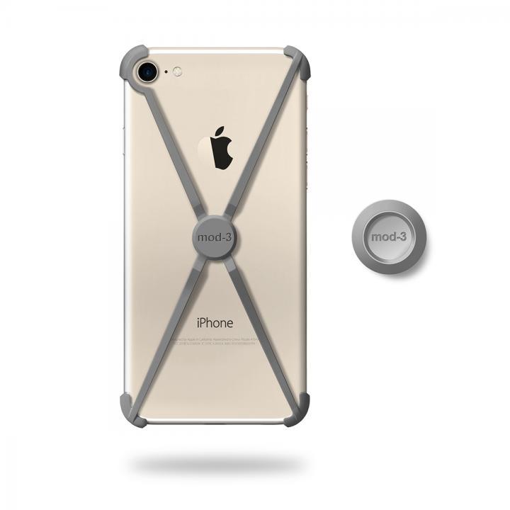 iPhone7 ケース ミニマムデザインフレーム ALT case グレイ iPhone 7_0