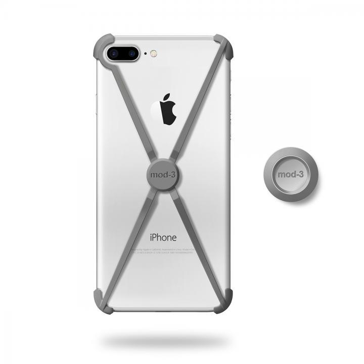[2017夏フェス特価]ミニマムデザインフレーム ALT case グレイ iPhone 7 Plus