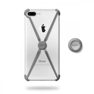 ミニマムデザインフレーム ALT case グレイ iPhone 7 Plus