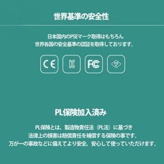 Qi対応ワイヤレス充電パッド & 1000mAhモバイルバッテリー ブラック_6
