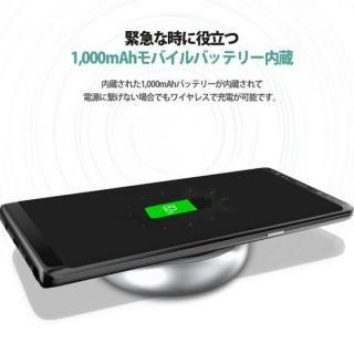 Qi対応ワイヤレス充電パッド & 1000mAhモバイルバッテリー ブラック_7