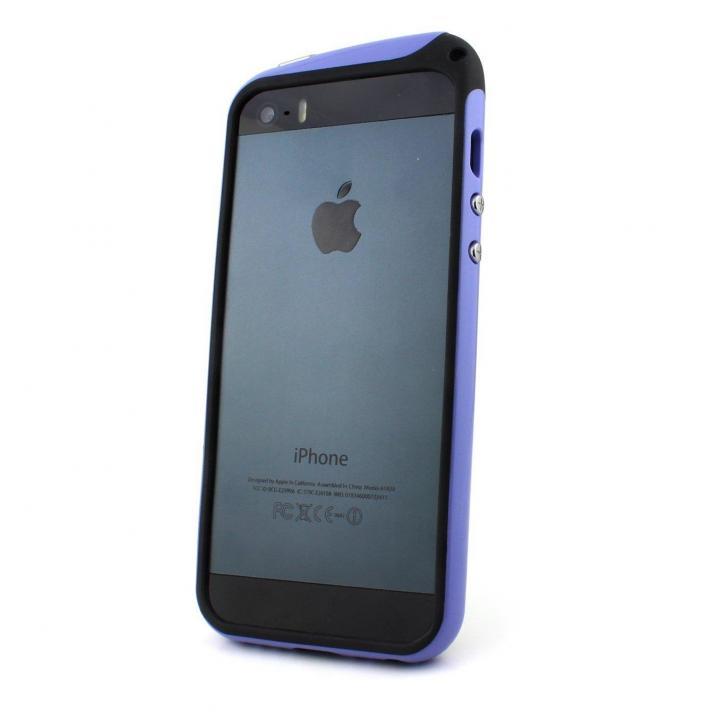 【iPhone SE/5s/5ケース】nodea Bumper Case (Purple)  iPhone SE/5s/5_0