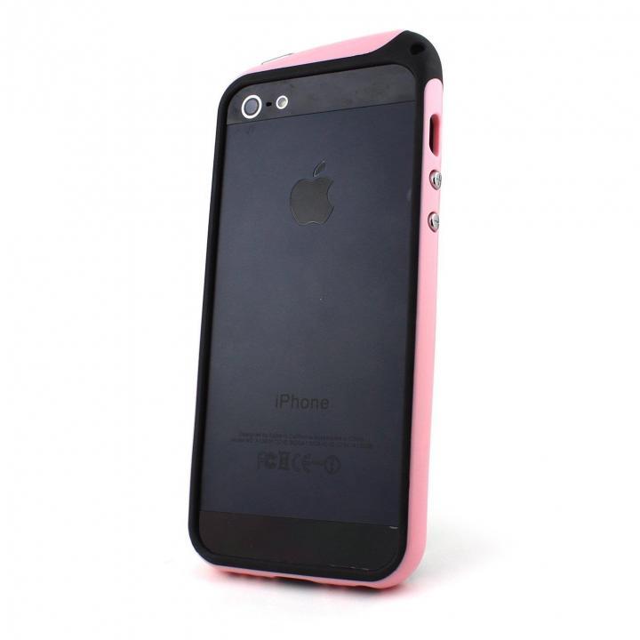 【iPhone SE/5s/5ケース】nodea Bumper Case (Pink)  iPhone SE/5s/5_0