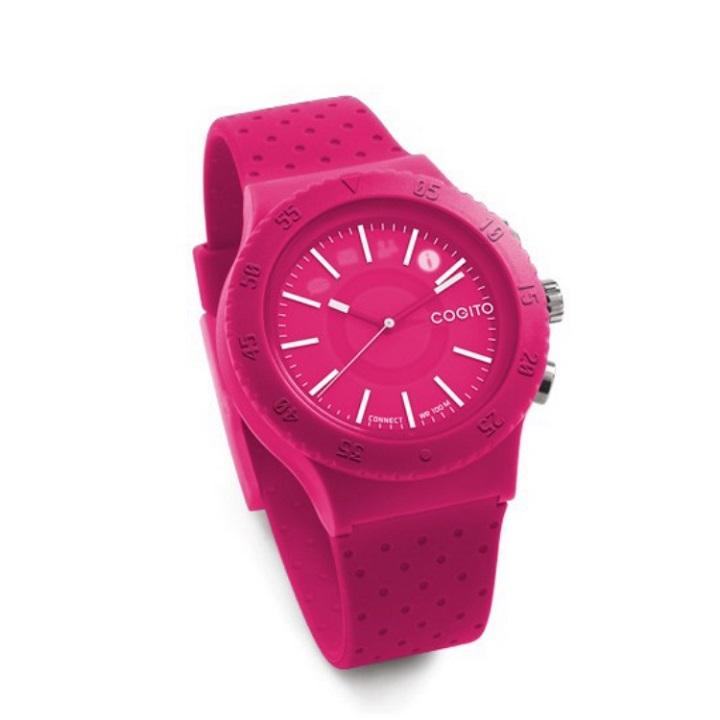 [2017夏フェス特価]スマートフォン連動腕時計 COGITO POP ピンク