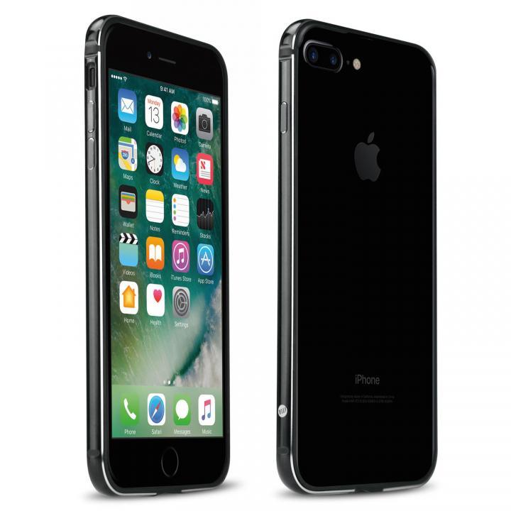 【iPhone7 Plusケース】FRAME x FRAME メタルバンパーケース ジェットブラック/ブラック iPhone 7 Plus_0