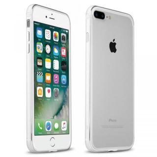 【iPhone7 Plusケース】FRAME x FRAME メタルバンパーケース シルバー/ホワイト iPhone 7 Plus